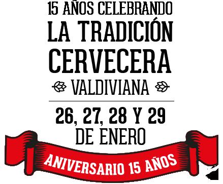 15 años celebrando la tradición cervecera valdiviana